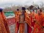 Епископ Тихон поздравил с Пасхой Христовой духовенство и прихожан викариатства. 14.04.2015