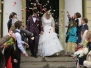 Первое венчание в молодёжной организации храма Живоначальной Троицы на Пятницком кладбище