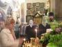 Всенощное бдение в храме Живоначальной Троицы на Пятницком кладбище в престольный праздник - день Святой Троицы.  30.05.2015
