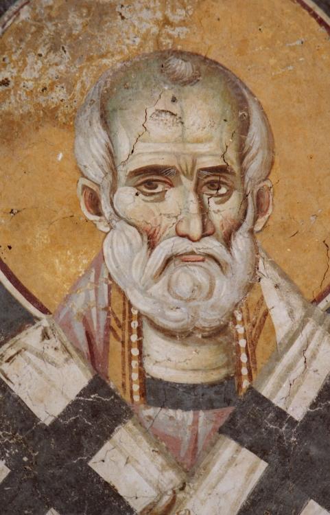 Freska_cerkvi_Perivlepty_Ohridskoy._Makedoniya