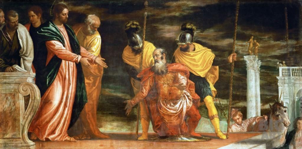 Исцеление слуги сотника из Капернаума--null