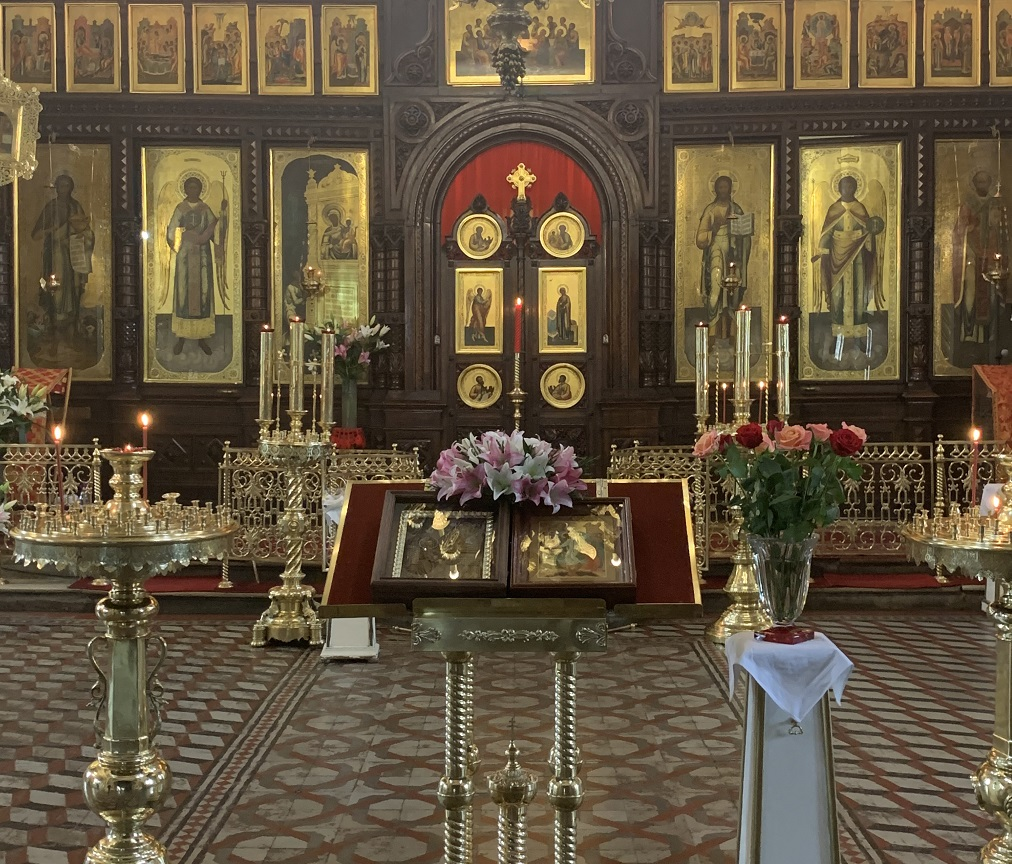 Праздник иконы Божией Матери Нечаянная Радость в Марьиной Роще