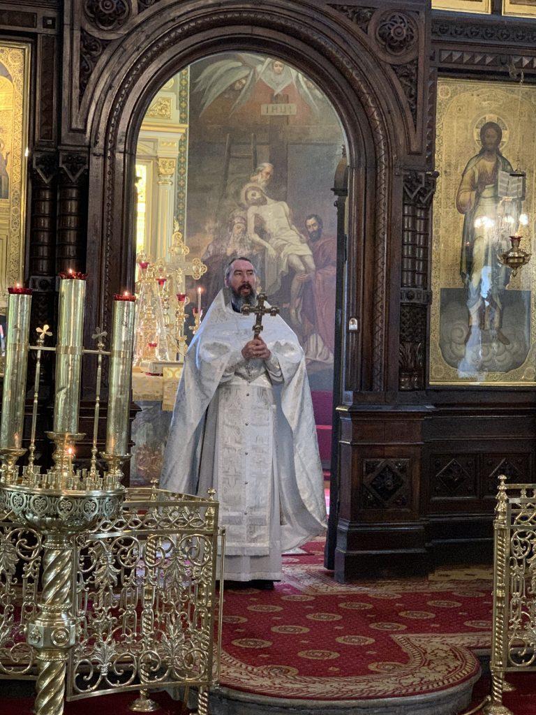 Божественная литургия на праздник Вознесение Господне